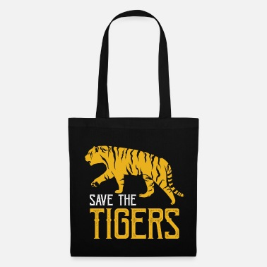 Tiger Shark Tiger fur predator king teeth - Tote Bag