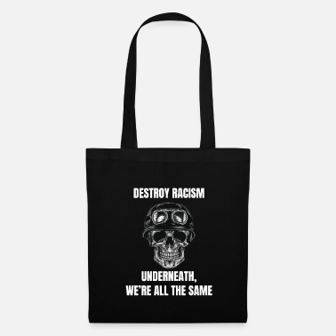 Antiraciste Paix antiraciste Paix tolérance antifasciste - Tote Bag