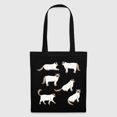Sacred Birman cat - Tote Bag