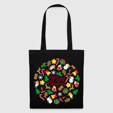 Cuddly Merry Christmas - Tote Bag