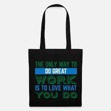 Job Travail Motivation Grand Job Job - Tote Bag