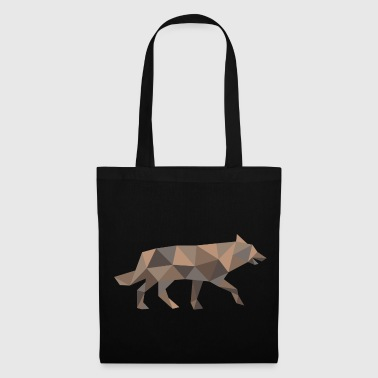 Wolf Geometry Wolf - Tote Bag