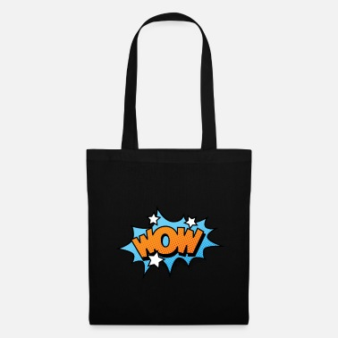 Strip Comic Comicstyle Comic Strip WOW - Bolsa de tela