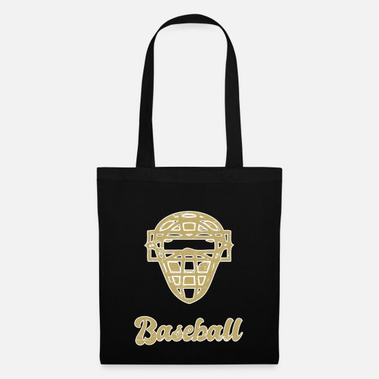 Baseball Glove Bags & Backpacks - Baseball player - Tote Bag black