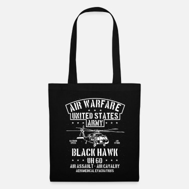 Black Hawk US Army Helicopter black hawk USA - Tote Bag