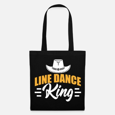 Country Line Dance Dancing Dancing Danza Country Regalo - Bolsa de tela