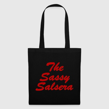 The Sassy Salsera Text - Tote Bag