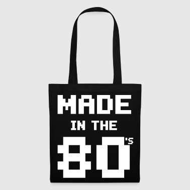 Made in the 80s - Geburtstagsshirt - Tas van stof