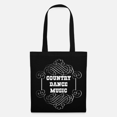 Country country dance music - Sac en tissu
