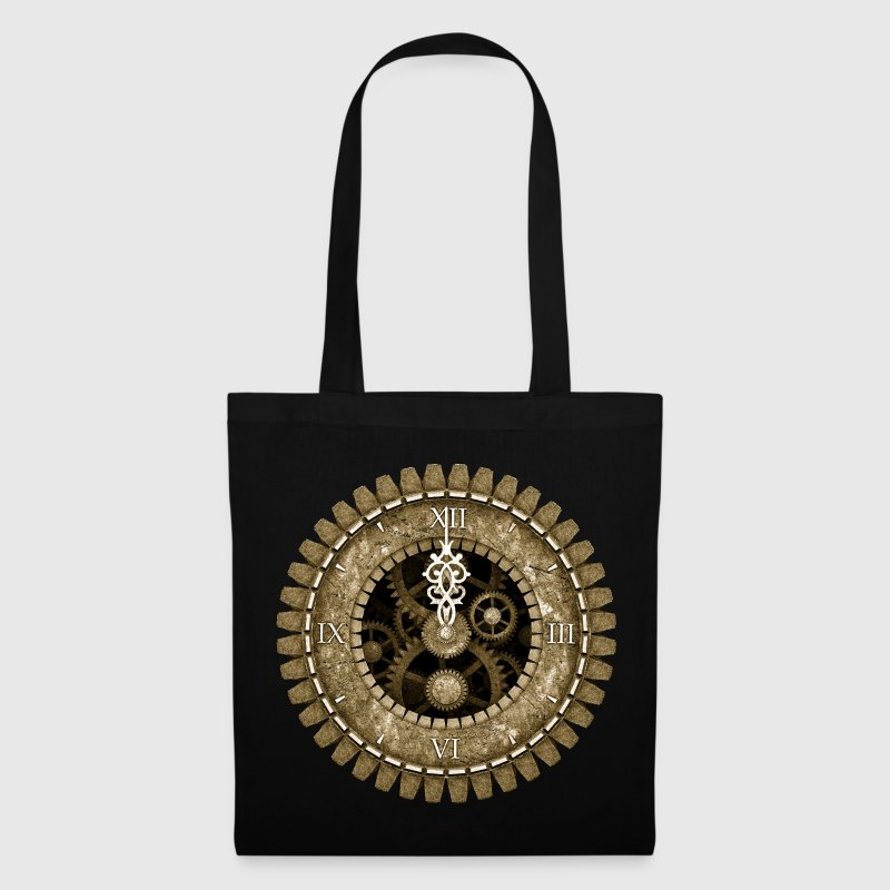 Vintage Steampunk Clock #2 Women's Organic T-Shirt - Tote Bag