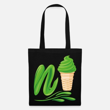 Plutonium N'ice Ice Cream Emoji with a N. Green Soft Ice - Tote Bag