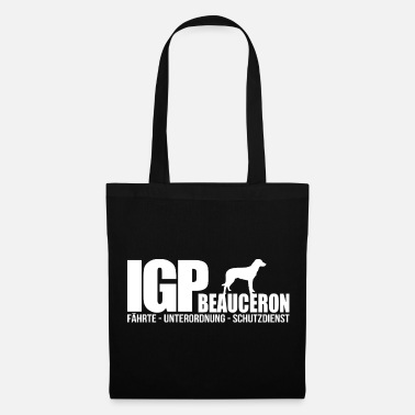 Originale IGP BEAUCERON Wilsigns Dog Sports Gifts IPO - Borsa di stoffa