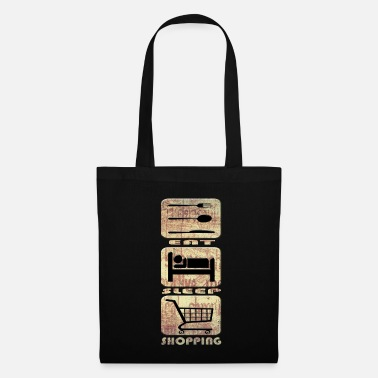 Shopping shopping - Tote Bag