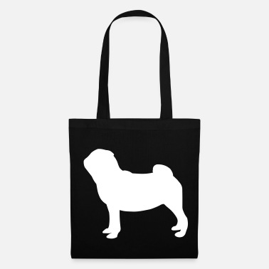 Pug Pug Dog - Tote Bag