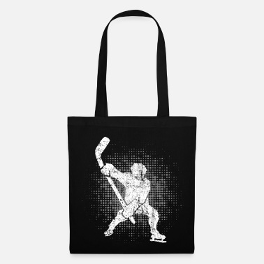 Game Ice Hockey Player Winter Sports Skater Gift - Tote Bag