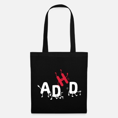Tdah T-shirt TDAH - Tote Bag