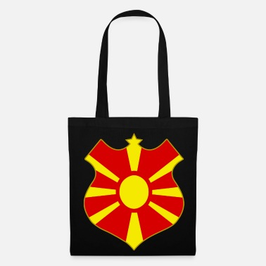 Shield macedonia shield - Torba z tkaniny