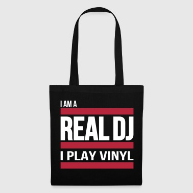 real DJ play vinyl Schallplatte Club turntables - Bolsa de tela