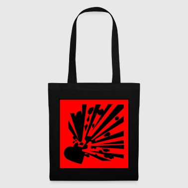 Exploding Heart - Tote Bag