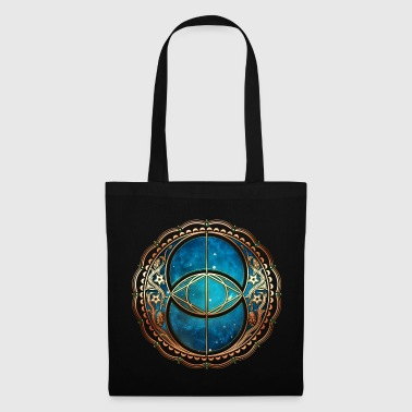 Vesica Piscis, Chalice Well, Avalon, Galaxy, Space - Bolsa de tela
