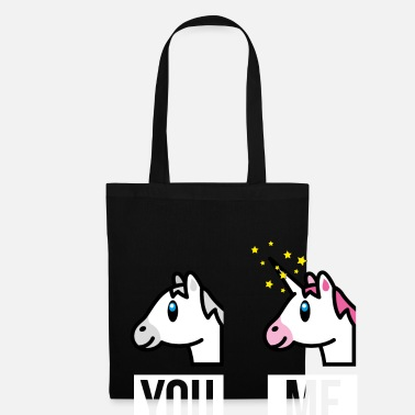Officialbrands SmileyWorld You Me Horse Vs Unicorn - Tote Bag