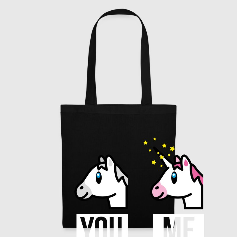 SmileyWorld You Me Horse Vs Unicorn - Tote Bag