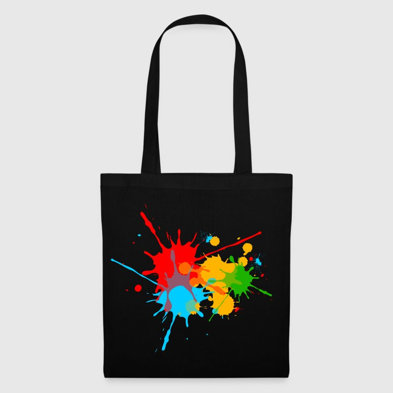 éclaboussures couleur, splash, color, taches - Tote Bag