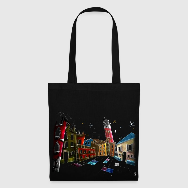 Nacasona Venice Art T-shirts - Tote Bag