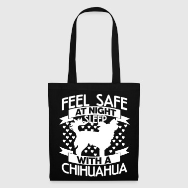 Feel safe at night – Chihuahua - Tote Bag