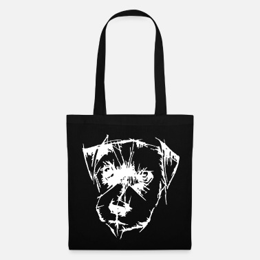 Dog Head Dog head - Tote Bag