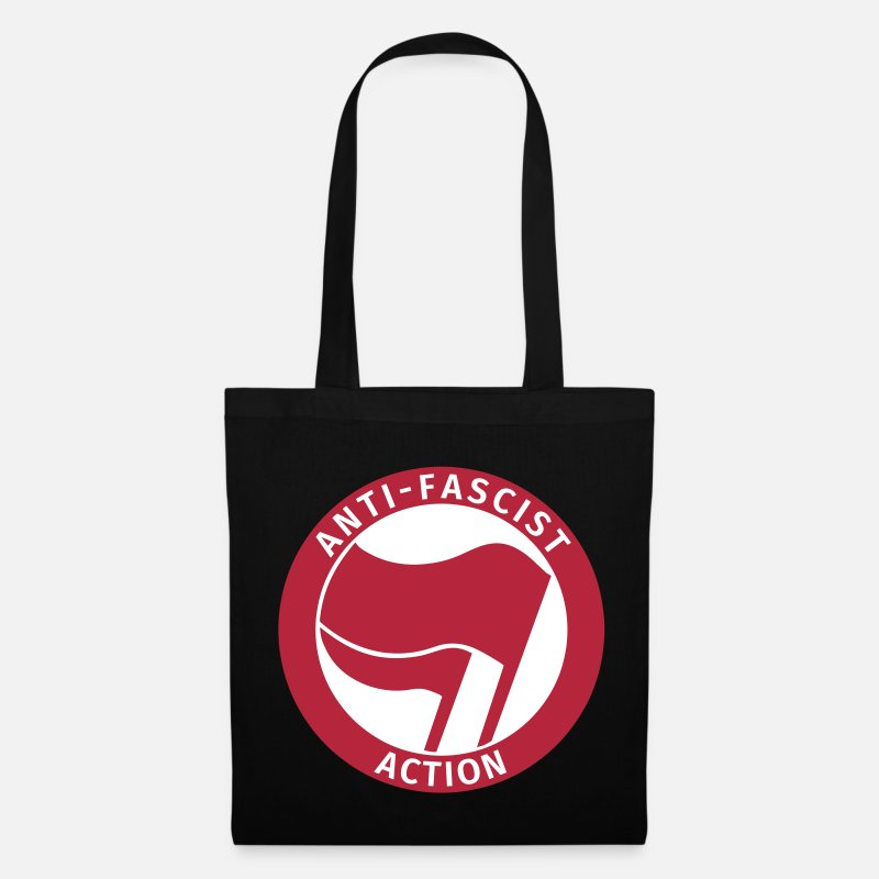 Antifascista Bolsas y mochilas - Anti-Fascist Action - Bolsa de tela negro
