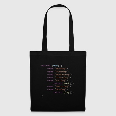 Week Week in Code - Tote Bag