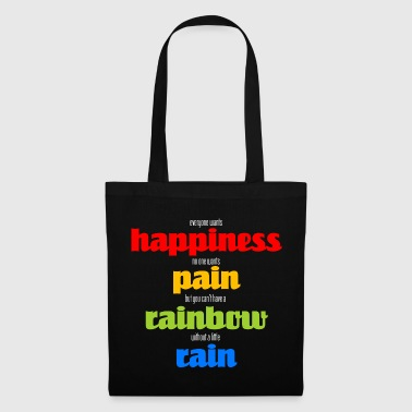 Happiness (dark) - Tote Bag