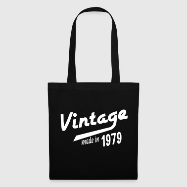 Date Born 1979 birthday gift year of birth year - Tote Bag