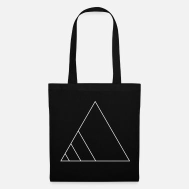 Emblem Icons shapes triangle gift geometric line - Tote Bag