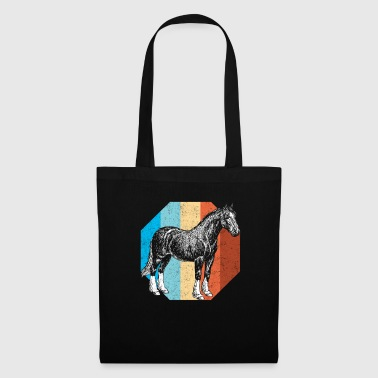 Horse horses stallion riding equestrian jockey animal - Tote Bag