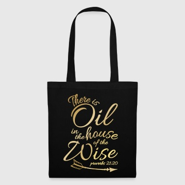Oil Rig There Is Oil - Funny Religious Bible Essential - Tote Bag