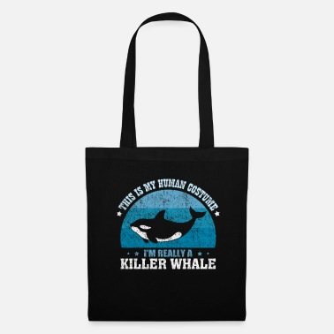 Killer Whale Orca Killer Whale Sea Zoo Gift Animal Costume - Tote Bag