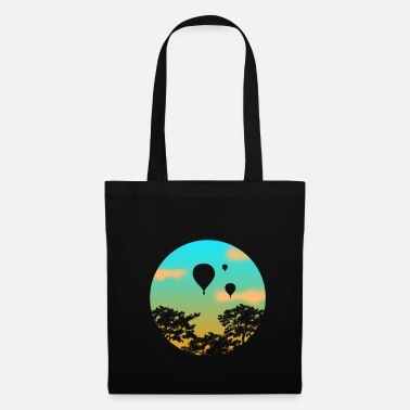 Gas Hot air balloon gift sunset - Tote Bag