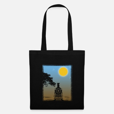 Locomotive À Vapeur Train Sunset Gift Christmas Birthday Child - Tote Bag