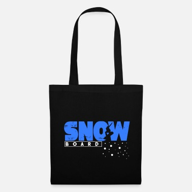 Popular Snowboard gift winter snow mountains - Tote Bag