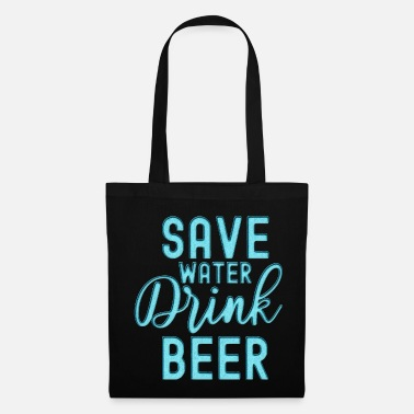 Teen Save Water Drink Beer - Tote Bag
