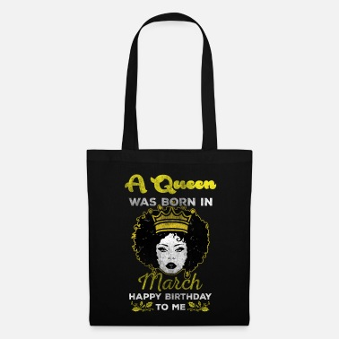 Bday März Queen - Tote Bag