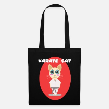 Karate Karate Cat Cat Kitty Meow Sport Training - Tote Bag