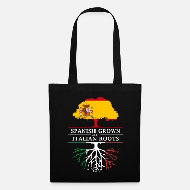 Madrid Spanish Grown with Italian Roots - Tote Bag