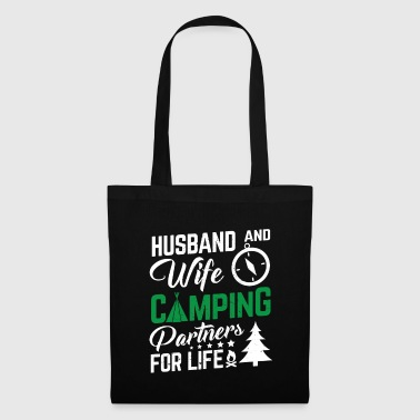 Husband and wife camping partners for life - Tote Bag