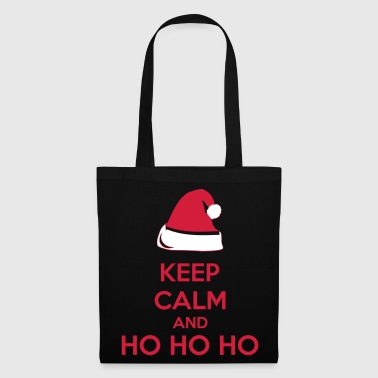 Keep Calm And Ho Ho Ho - Borsa di stoffa
