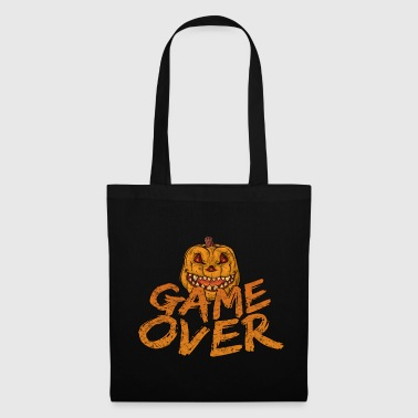 Game Over Gaming Halloween - Bolsa de tela