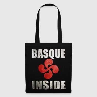 Basque Inside croix rouge 2 - Tote Bag
