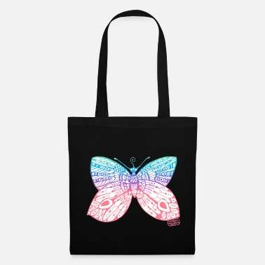 Portebonheur Papillon • Under my skin - Tote Bag